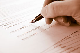 Legal Contracts are often binding